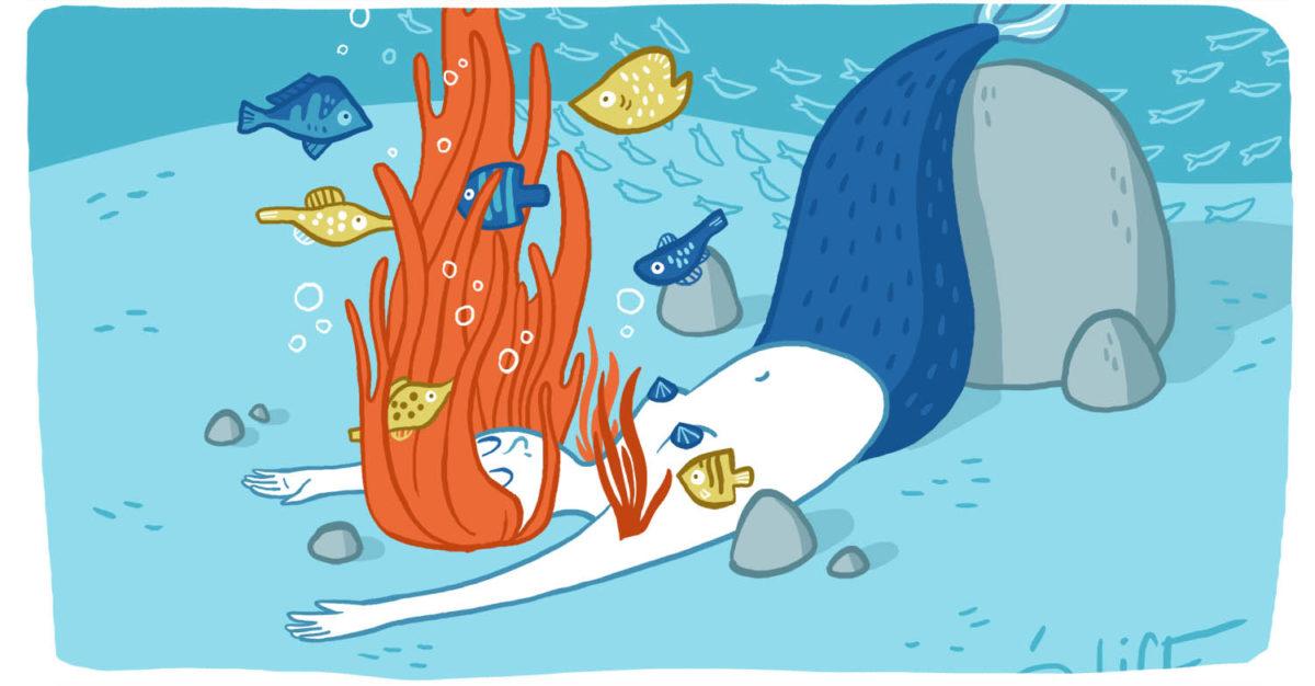 couverture de l'article galerie sous-marine